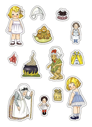 딩글스 엽서 2권 스티커4