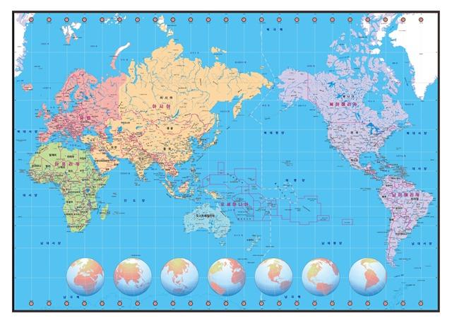 국기카드_세계지도